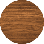 Walnut is a trend for kitchen cabinets in Houston