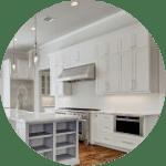 Shaker cabinetry in luxury kitchen in Houston