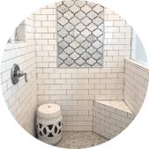 Inlay Luxury Bathroom Tile