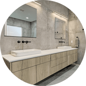 Wall Mounted Faucets for Luxurious Bathroom Vanities in Houston